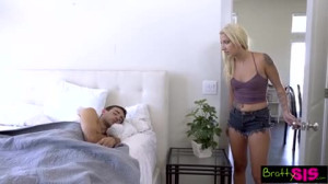 Bratty Sis - Step Brother And Sister Share A Bed And Fuck
