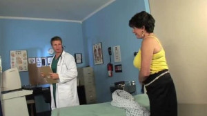 50 plus Milfs - 66 Years Old Bea Cummins Fucks Her Younger Doctor